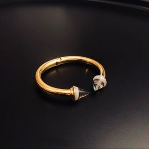 Vita Fede Titan Abalone Stone Bracelet